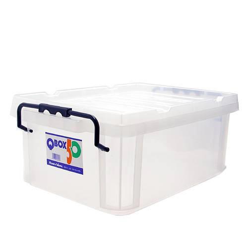 QBOX-50 (495×345×195mm) 1個 クワガタ カブトムシ 飼育ケース コンテナ ボックス 産卵 ブリード 関東当日便