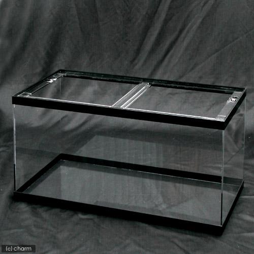 メーカー直送 (受注生産)アクリルクリアタンク 黒帯あり(120×45×45cm・板厚6×6×5mm) 同梱不可 別途送料