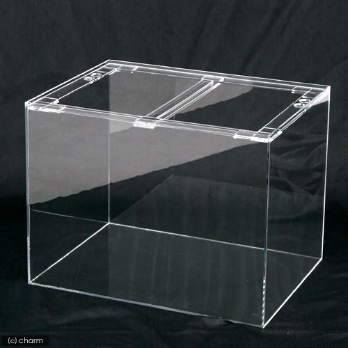 (大型)アウトレット品 アクリルクリアタンク(60×60×60cm・板厚10×10×8mm)リブなし 別途大型手数料・同梱不可・代引不可