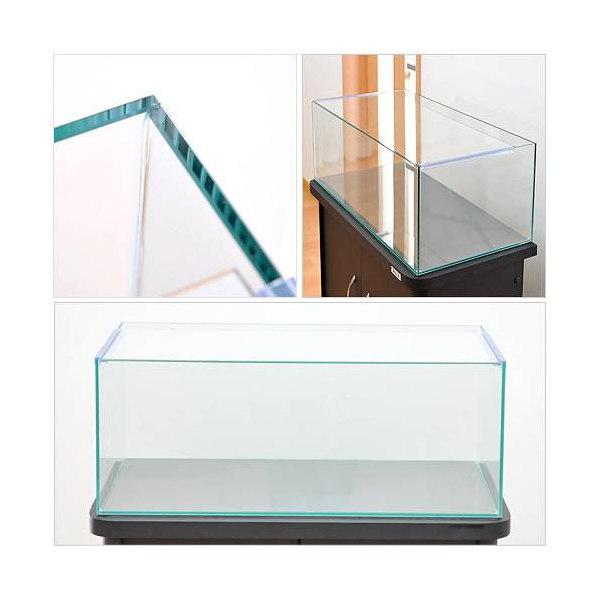 60cmフラット水槽(単体)アクロ60Nフラット(60×30×23cm)オールガラス水槽 Aqullo アクアリウム用品 お一人様1点限り 関東当日便
