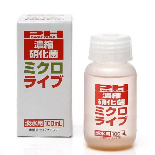 파워 하우스 농축 초화균 미크로 라이브 담수용 100 ml(빨강) 박테리아 열대어 관상어 관동 당일편