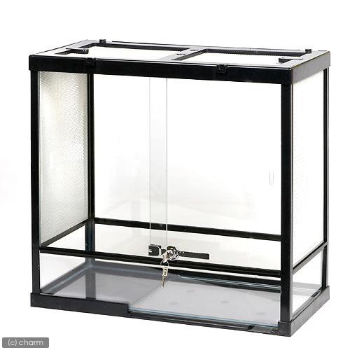 同梱不可・中型便手数料 みどり商会 ケースバイケース60L 爬虫類 飼育 ケージ ガラスケージ 才数200