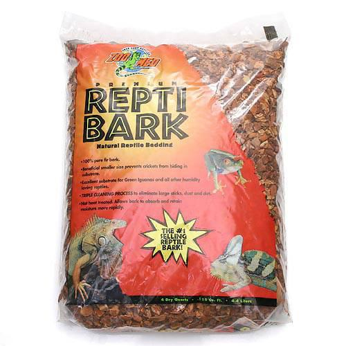 ZOOMED REPTI 売り込み BARK レプティバーク 着後レビューで 送料無料 4.4L 爬虫類 底床 関東当日便 敷砂 陸棲用