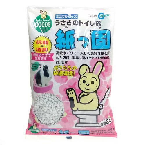 マルカン 紙っ固 2L 迅速な対応で商品をお届け致します トイレ砂 関東当日便 紙 出荷 うさぎ用