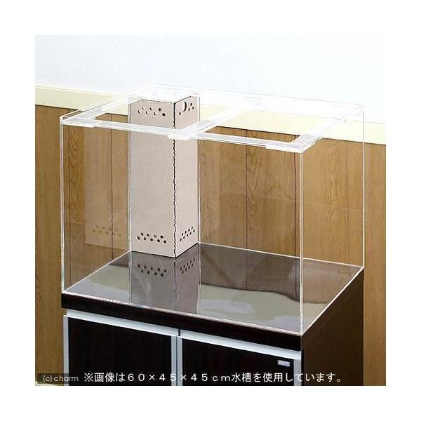 メーカー直送 (受注生産)アクリル水槽 OFコーナー付(サイズ:180×90×60cm) 同梱不可 別途送料