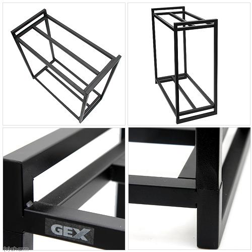 GEX 水槽台 60cm水槽用組立2段台 ブラック 60cm水槽用(キャビネット)お一人様2点限り 関東当日便