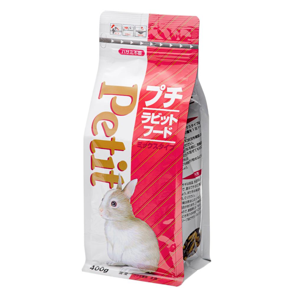 消費期限 おすすめ特集 2023 05 31 フィード ワン プチ 記念日 400g 関東当日便 ラビットフード ミックスタイプ
