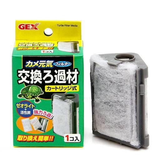 男女兼用 GEX カメ元気フィルター 交換ろ過材 関東当日便 カートリッジ式 WEB限定 ジェックス