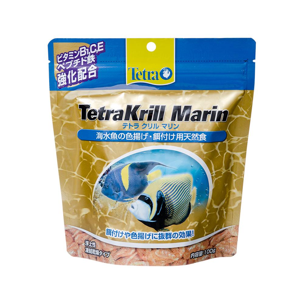 消費期限 2024 06 28 テトラ 100g 関東当日便 餌 クリルマリン 格安SALEスタート マーケティング 海水魚