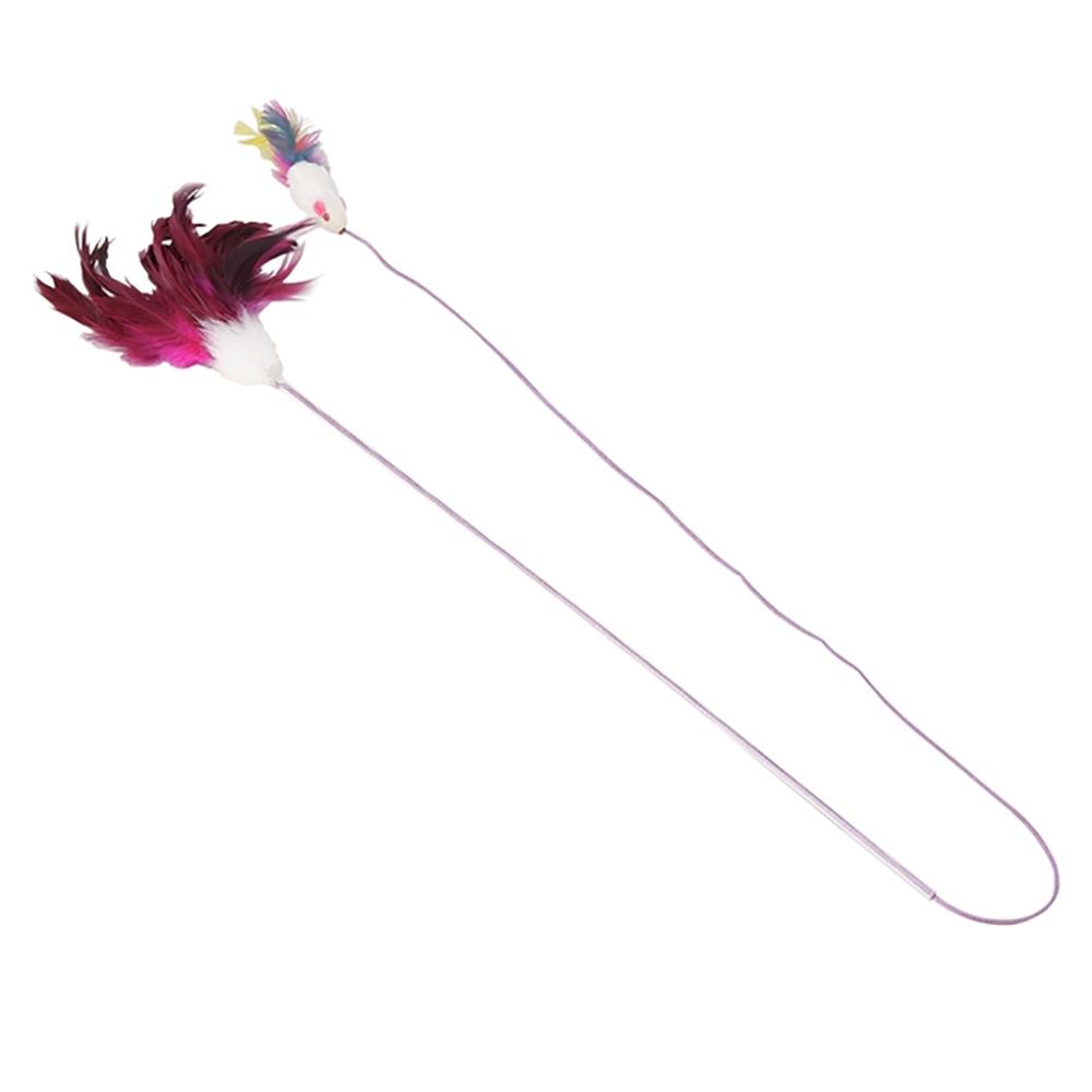 キャティーマン じゃれ猫 ふりふり三まい タンゴ 猫じゃらし 猫 猫用おもちゃ ドギーマン 関東当日便