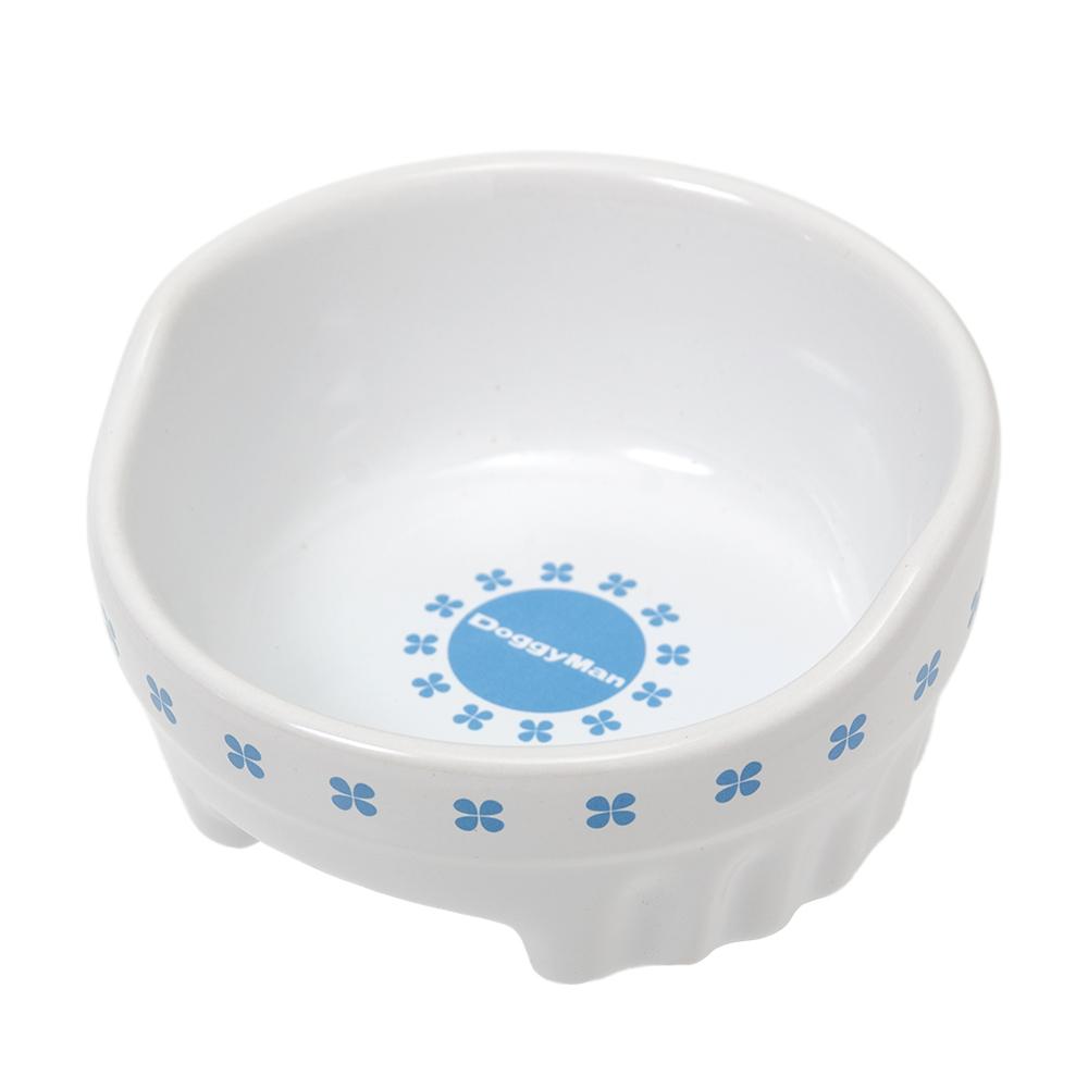 ドギーマン すべり止め付 便利なクローバー陶製食器 出色 SS 商店 関東当日便