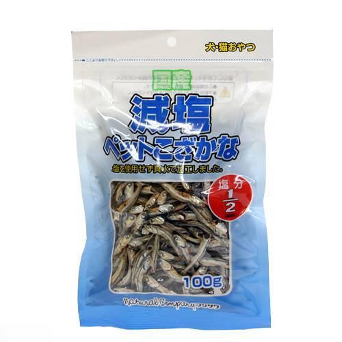 フジサワ 減塩ペットこざかな 100g 犬 猫 おやつ 関東当日便