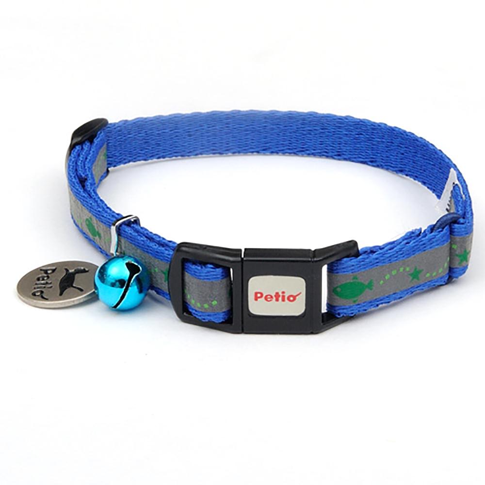 ペティオ キャットカラー スターフィッシュカラー ブルー 猫 首輪 カラー 関東当日便