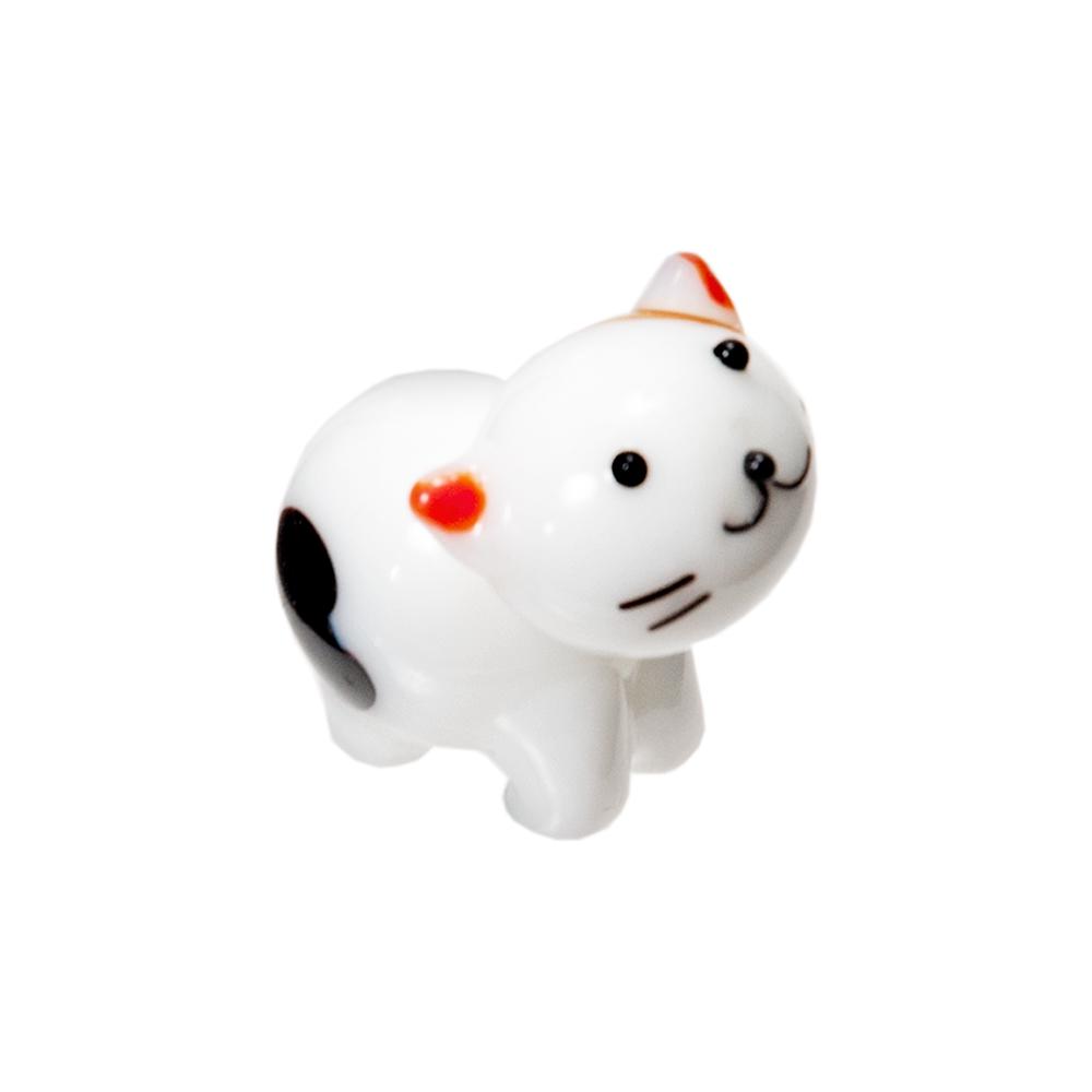 グラスコレクション プチシリーズ ミケネコ A 関東当日便 猫 1個 雑貨 低価格 セール