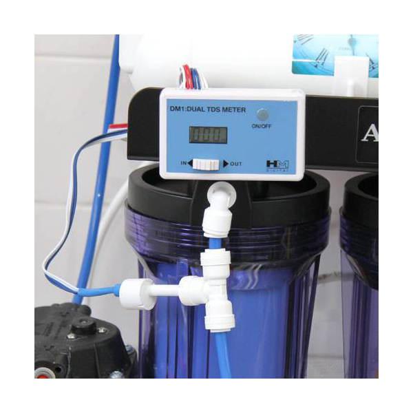 商品追加値下げ在庫復活 クロノスレイン浄水器用 デュアルインラインTDSモニター DM-1 品質保証 関東当日便