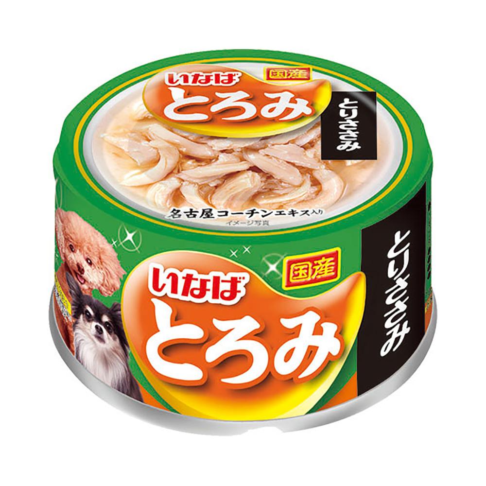 消費期限 2024/01/12  いなば 犬用 とろみ とりささみ 80g ドッグフード とろみ 関東当日便