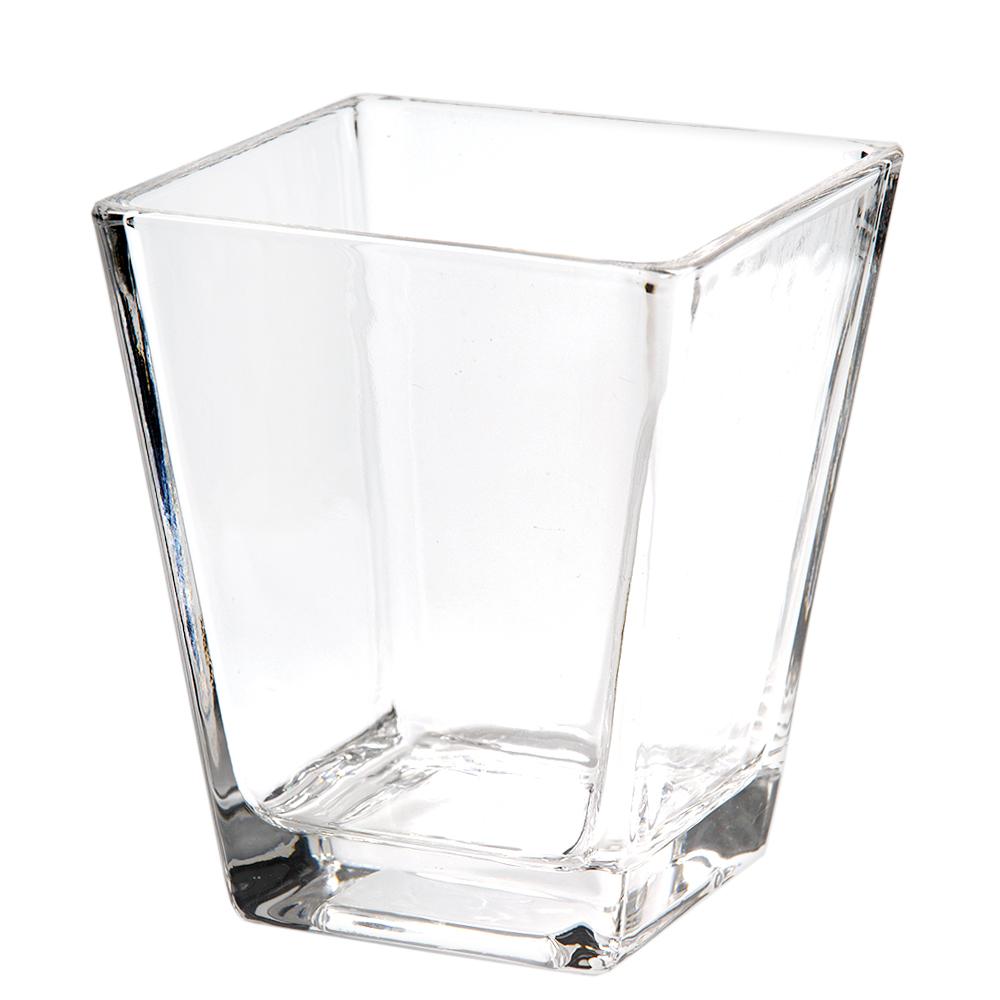 ガラスベース スクエアグラス 上品 L エアプランツ 多肉植物 HLS_DU ガラス ティランジア 関東当日便 全商品オープニング価格