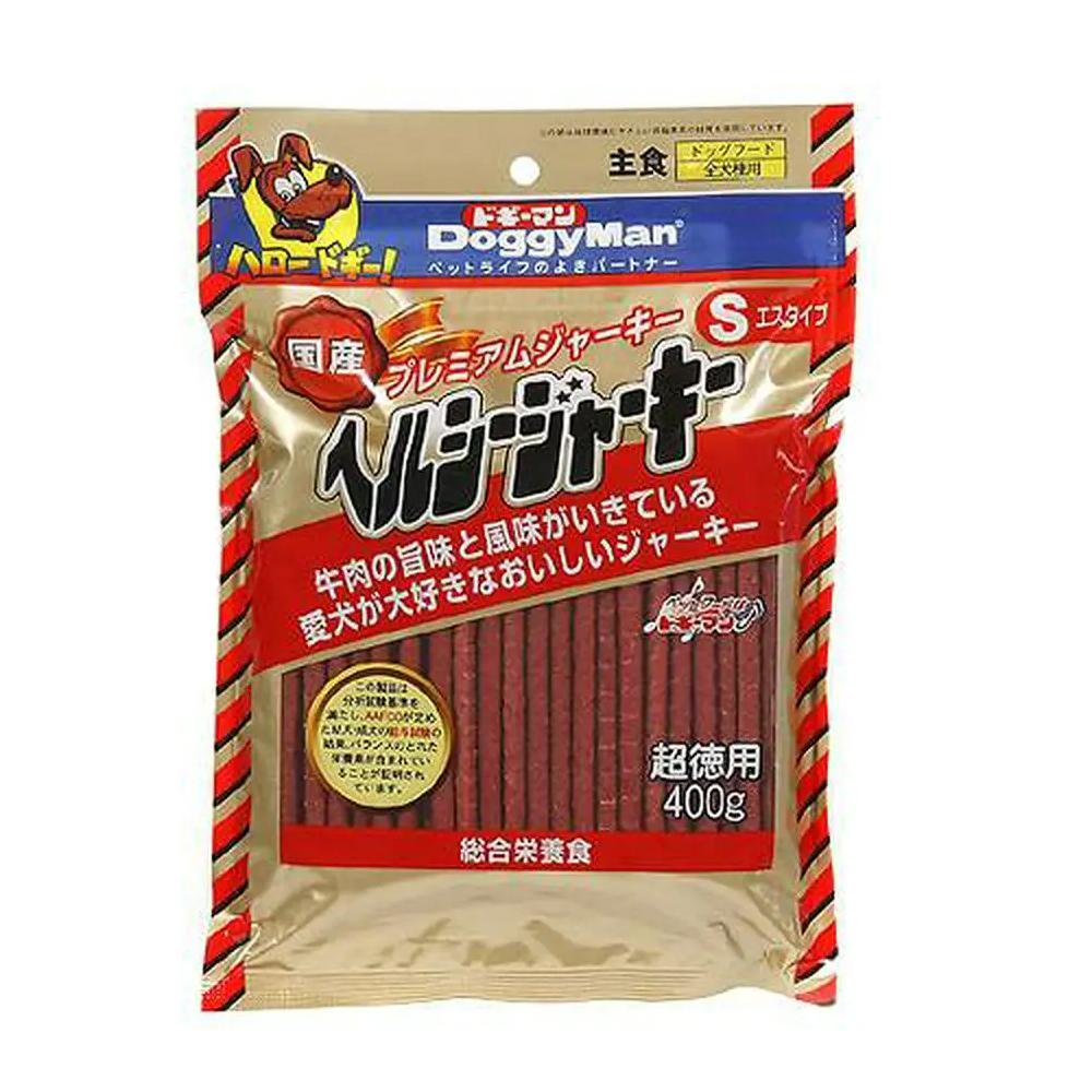 消費期限 2022/02/28  ドギーマン ヘルシージャーキーS 400g 犬 おやつ ジャーキー 関東当日便