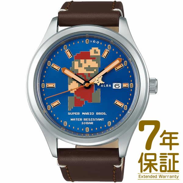 【正規品】ALBA アルバ 腕時計 ACCA401 メンズ スーパーマリオ ウオッチコレクション 自動巻き