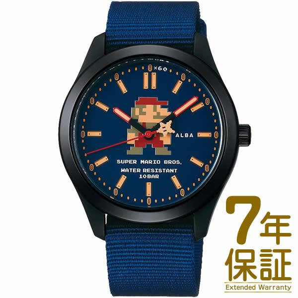 【正規品】ALBA アルバ 腕時計 ACCK422 メンズ スーパーマリオ ウオッチコレクション クオーツ