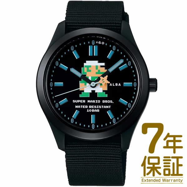【正規品】ALBA アルバ 腕時計 ACCK423 メンズ スーパーマリオ ウオッチコレクション クオーツ
