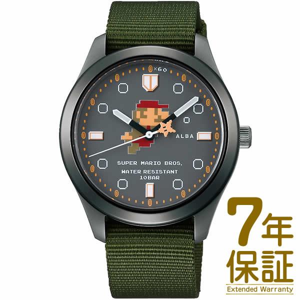 【正規品】ALBA アルバ 腕時計 ACCK424 メンズ スーパーマリオ ウオッチコレクション クオーツ