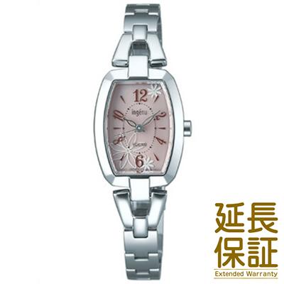 【国内正規品】ALBA アルバ 腕時計 SEIKO セイコー AHJD058 レディース ingenu アンジェーヌ ソーラー トノーフラワー