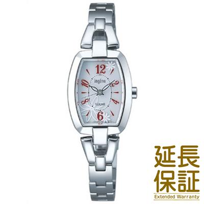 【国内正規品】ALBA アルバ 腕時計 SEIKO セイコー AHJD059 レディース ingenu アンジェーヌ ソーラー トノーフラワー