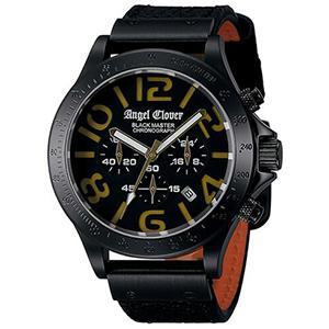 Angel Clover エンジェル クローバー 腕時計 BM46BGD-BK メンズ BLACK MASTER MILLITARY ブラックマスターミリタリー