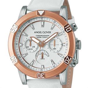 Angel Clover エンジェル クローバー 腕時計 BR43PWH-WH メンズ Brio ブリオ