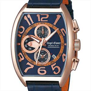 【正規品】エンジェルクローバー Angel Clover 腕時計 DP38PNV-NV メンズ DOBLE PLAY ダブルプレイ クロノグラフ