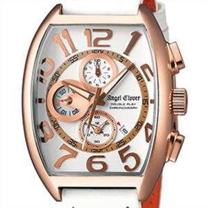 【正規品】エンジェルクローバー Angel Clover 腕時計 DP38PWH-WH メンズ Double Play ダブルプレイ