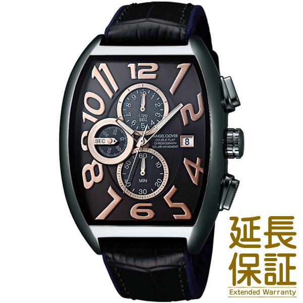 【正規品】Angel Clover エンジェルクローバー 腕時計 DPS38GY-BK メンズ Double Play Solar ダブルプレイソーラー ソーラー