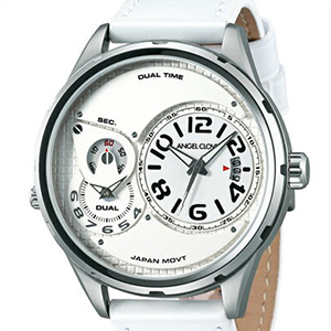 【国内正規品】Angel Clover エンジェル クローバー 腕時計 DU47SWH-WH メンズ Duel デュエル