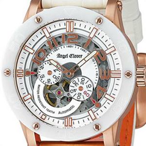 Angel Clover エンジェル クローバー 腕時計 EVA43PWH-WH メンズ EXVENTURE エクスベンチャー