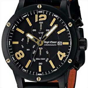 【国内正規品】Angel Clover エンジェル クローバー 腕時計 EVC46BBK-BK メンズ Exventure エクスベンチャー クロノグラフ