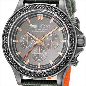 Angel Clover エンジェル クローバー 腕時計 LM46GMZ-GR メンズ LUXE MASTER リュクスマスター クロノグラフ