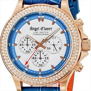【正規品】エンジェルクローバー Angel Clover 腕時計 LM46PBZ-BU メンズ LUXE MASTER リュクスマスター クロノグラフ