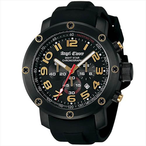【正規品】エンジェルクローバー Angel Clover 腕時計 NES46BBG-BK メンズ 8ght Star エイトスター