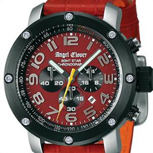 【国内正規品】Angel Clover エンジェル クローバー 腕時計 NES46SRE-LEATHER メンズ RED COLLECTION レッド コレクション