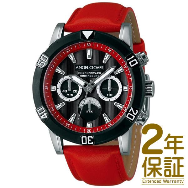 【国内正規品】Angel Clover エンジェル クローバー 腕時計 BR43BBK-RE メンズ Brio ブリオ クロノグラフ クオーツ