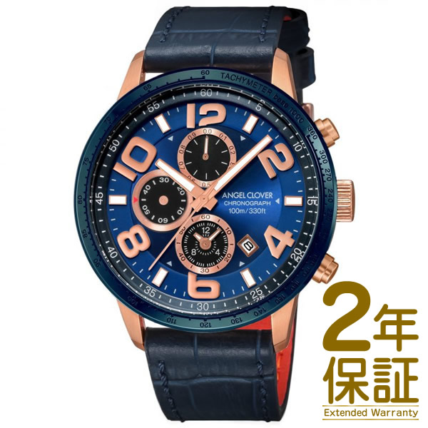 Angel Clover エンジェル クローバー 腕時計 LU44PNV-NV メンズ LUCE ルーチェ クロノグラフ クオーツ