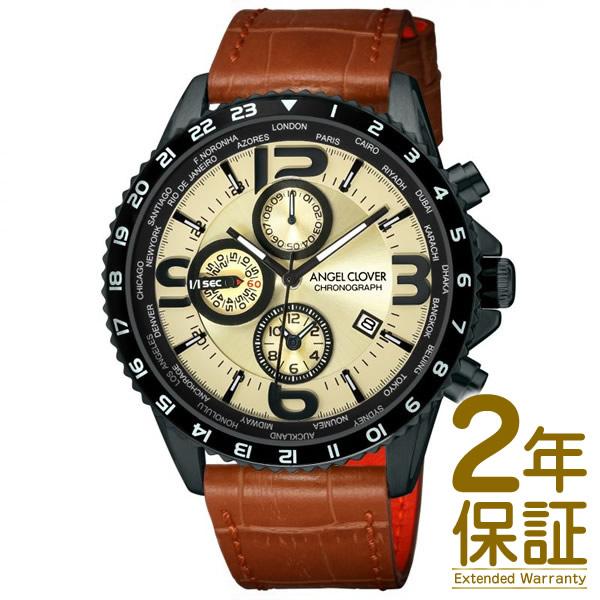 【国内正規品】Angel Clover エンジェル クローバー 腕時計 MO44BSB-LB メンズ MONDO モンド クロノグラフ クオーツ