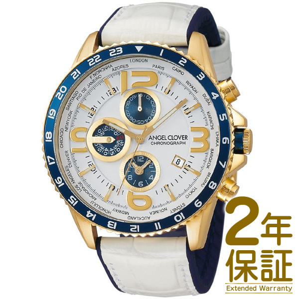 Angel Clover エンジェル クローバー 腕時計 MO44YNV-WH メンズ MONDO モンド クロノグラフ クオーツ
