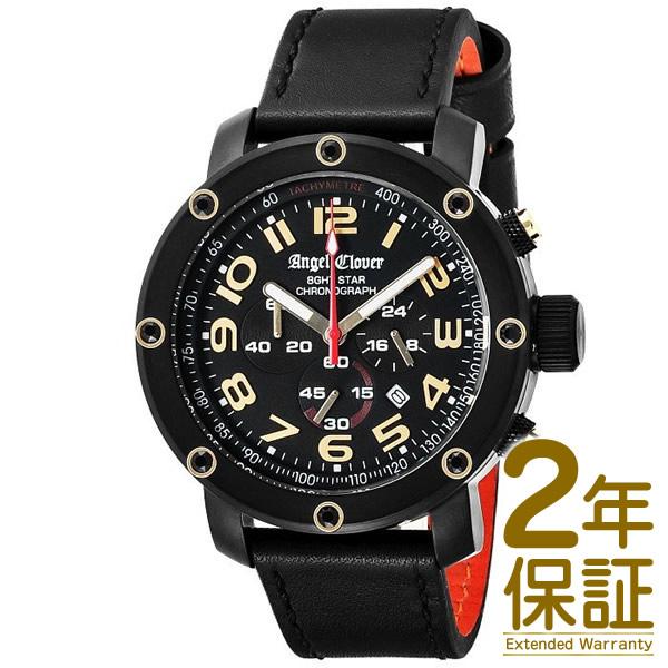 【国内正規品】Angel Clover エンジェル クローバー 腕時計 NES46BBG-BKL メンズ 8ght STAR エイトスター クロノグラフ クオーツ