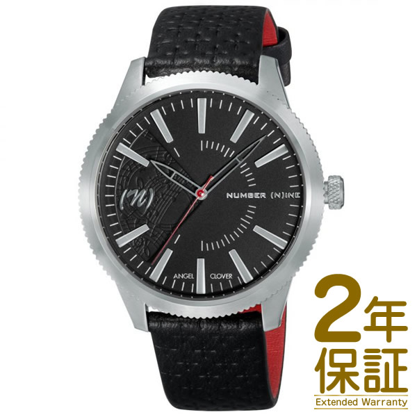 【国内正規品】Angel Clover エンジェル クローバー 腕時計 NN42SBK-BK メンズ NUMBER (N)INE ナンバーナイン クオーツ