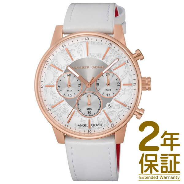 Angel Clover エンジェル クローバー 腕時計 NNC42PWH-WH メンズ NUMBER (N)INE ナンバーナイン クロノグラフ クオーツ