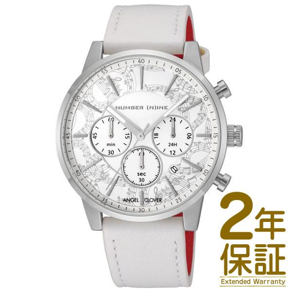 Angel Clover エンジェル クローバー 腕時計 NNC42SWH-WH メンズ NUMBER (N)INE ナンバーナイン クロノグラフ クオーツ