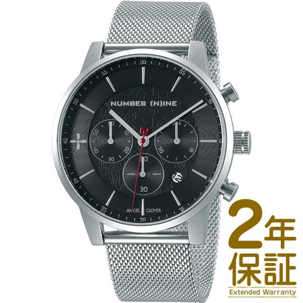 【国内正規品】Angel Clover エンジェル クローバー 腕時計 NNCH42SBK メンズ NUMBER (N)INE ナンバーナイン クロノグラフ クオーツ