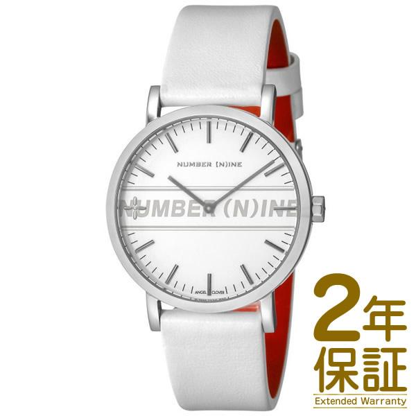 Angel Clover エンジェル クローバー 腕時計 NNR40SSV-WH メンズ NUMBER (N)INE ナンバーナイン クロノグラフ クオーツ